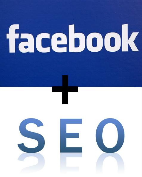 An Image Displaying Facebook and an SEO Logo