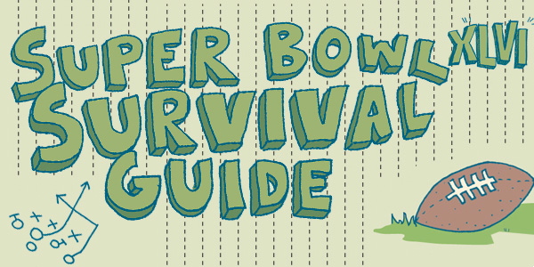 Super Bowl Survival Illustration