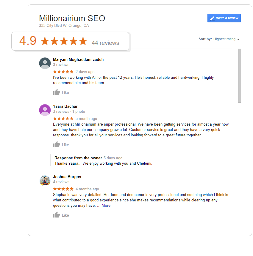 About the Best Google SEO Agency | Millionairium and Ali Husayni