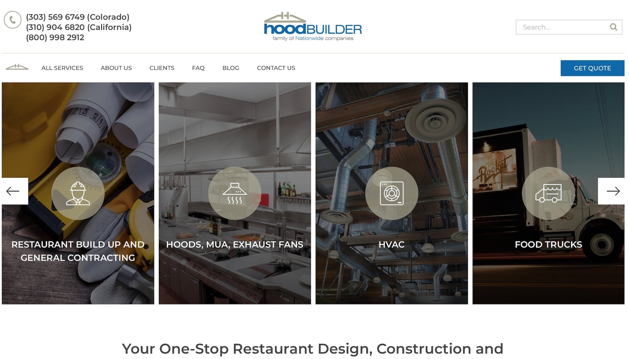 HoodBuilder Website Denver, Co.