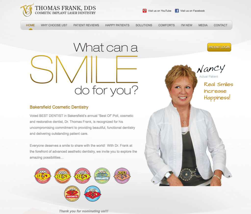 Dr Frank SEO Optimized Website