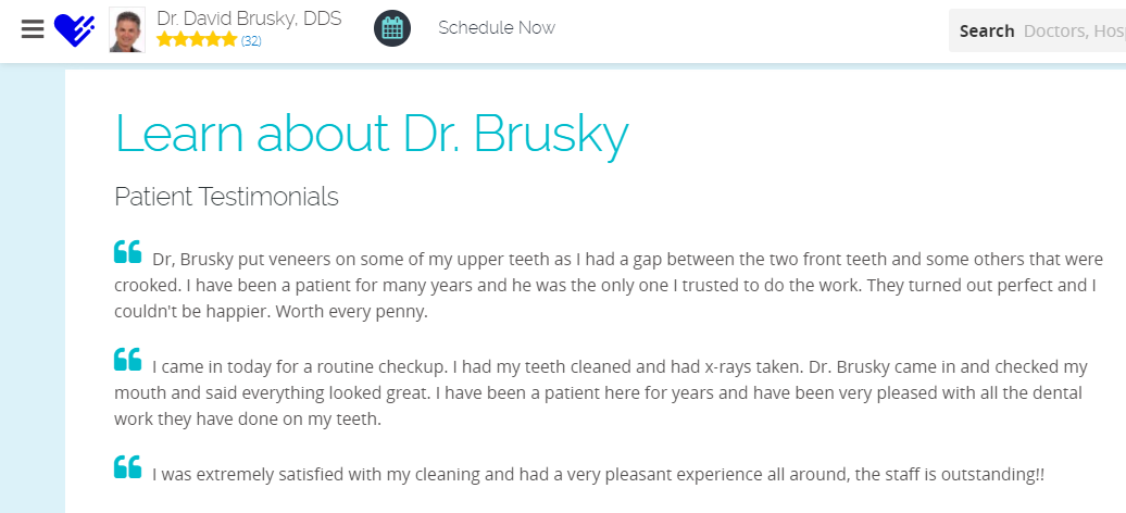 Learn About Dr. David Brusky's SEO